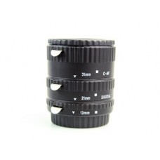 3 Ring Auto-Focus AF Macro Extension Tube voor Canon (Metaal)